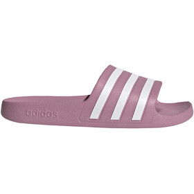 adidas Adilette Aqua Slides Women, cherry metalic/footwear white/cherry metalic